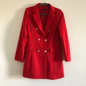 Dresses & Skirts - Red blazer dress